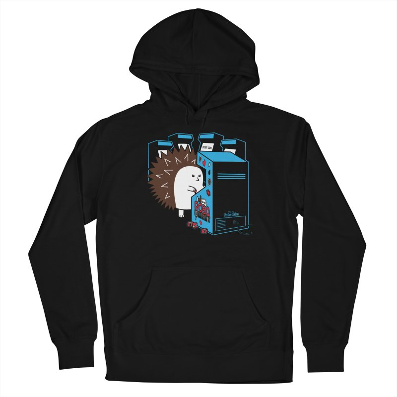 Duncan the Hedgehog Arcade Men's French Terry Pullover Hoody by Robo Roku