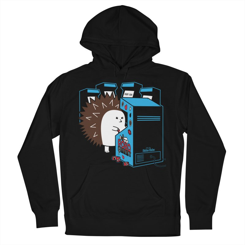 Duncan the Hedgehog Arcade Women's French Terry Pullover Hoody by Robo Roku