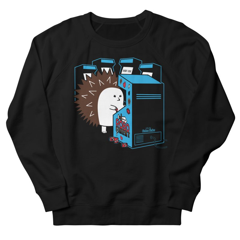 Duncan the Hedgehog Arcade Women's French Terry Sweatshirt by Robo Roku
