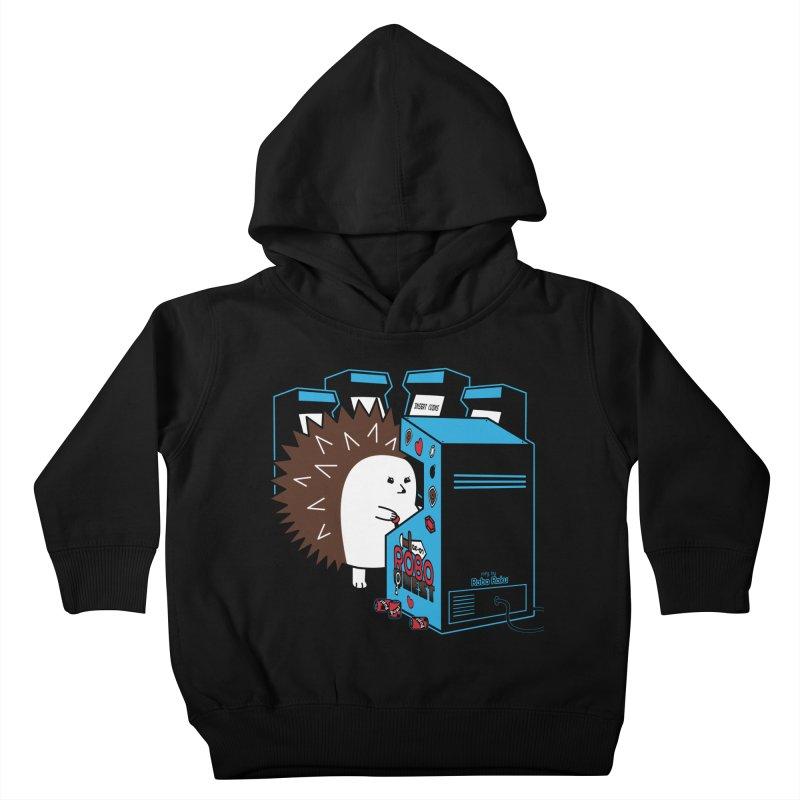 Duncan the Hedgehog Arcade Kids Toddler Pullover Hoody by Robo Roku