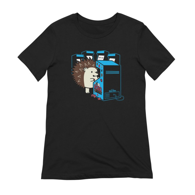 Duncan the Hedgehog Arcade Women's T-Shirt by Robo Roku