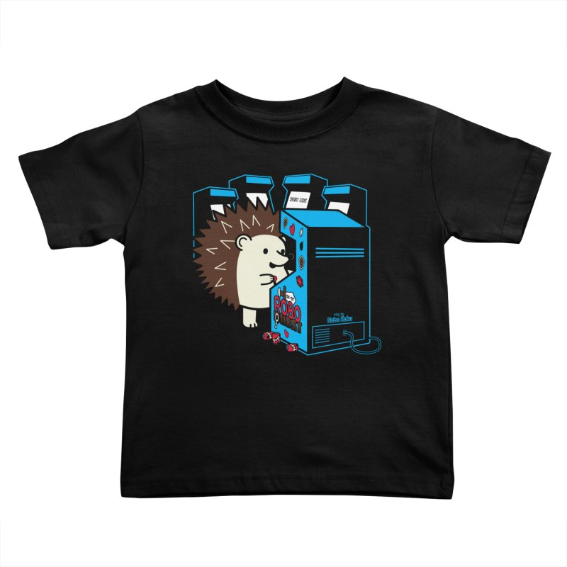 Duncan the Hedgehog Arcade Kids Toddler T-Shirt by Robo Roku