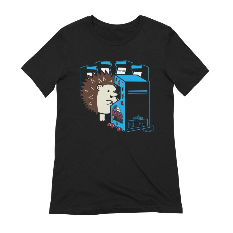 Duncan the Hedgehog Arcade Women's T-Shirt by Robo Roku