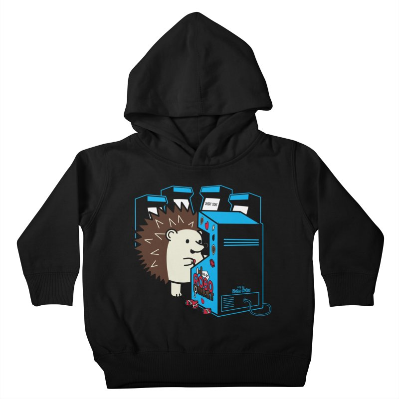 Duncan the Hedgehog Arcade Kids Toddler Pullover Hoody by Robo Roku