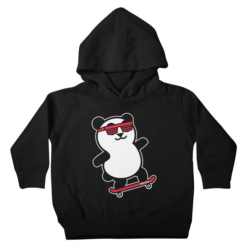Rad Panda Kids Toddler Pullover Hoody by Robo Roku
