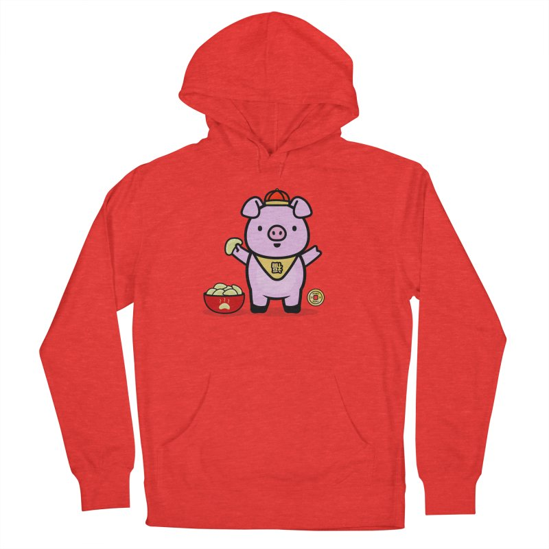 Year of the Pig - Fú the Pig Men's Pullover Hoody by Robo Roku