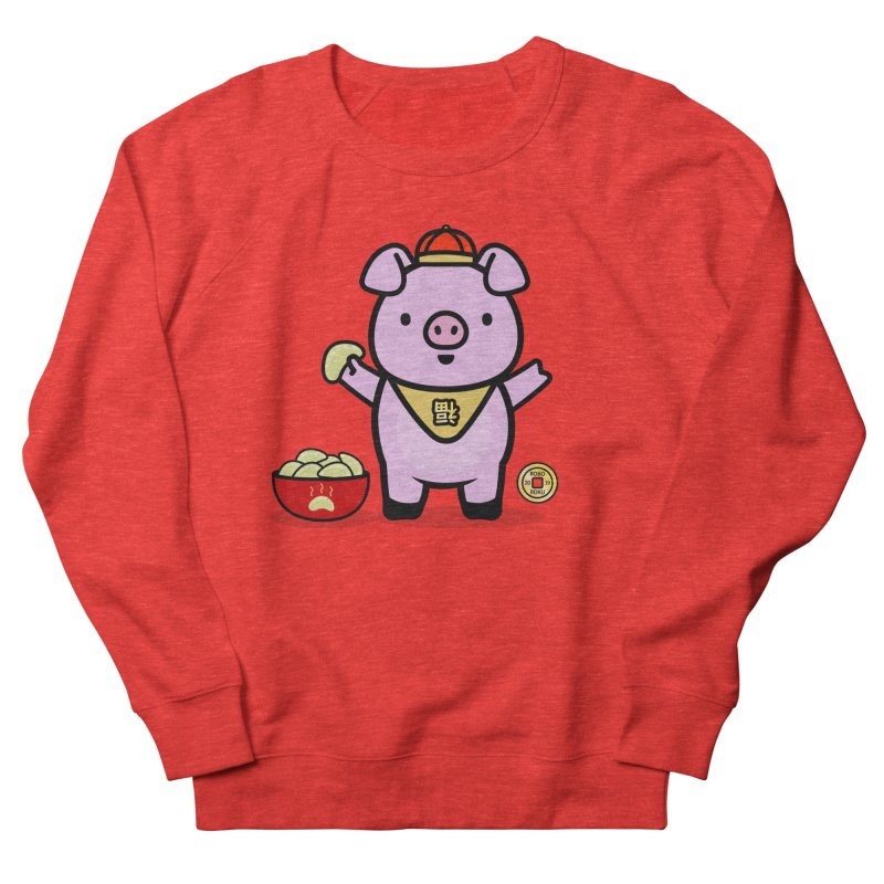 Year of the Pig - Fú the Pig Women's Sweatshirt by Robo Roku
