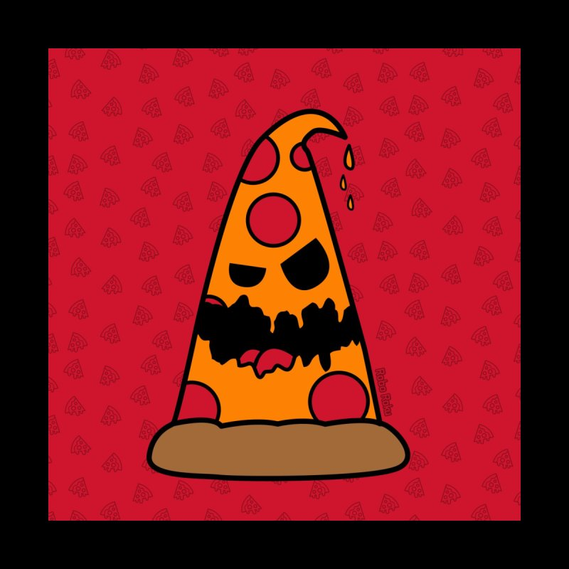 Pizza Life - Pepperoni Pete Kids Longsleeve T-Shirt by Robo Roku