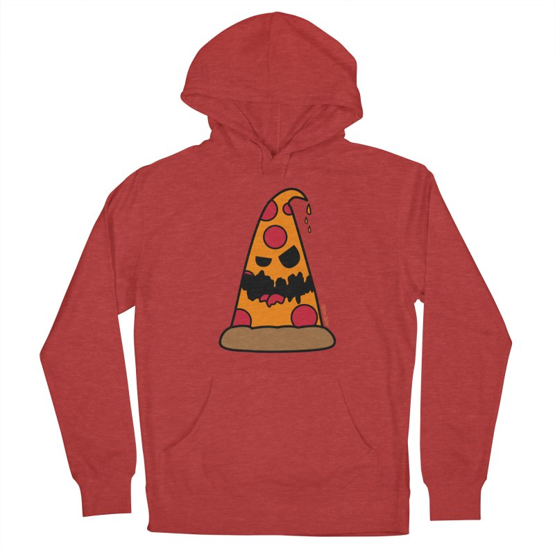 Pizza Life - Pepperoni Pete Men's French Terry Pullover Hoody by Robo Roku