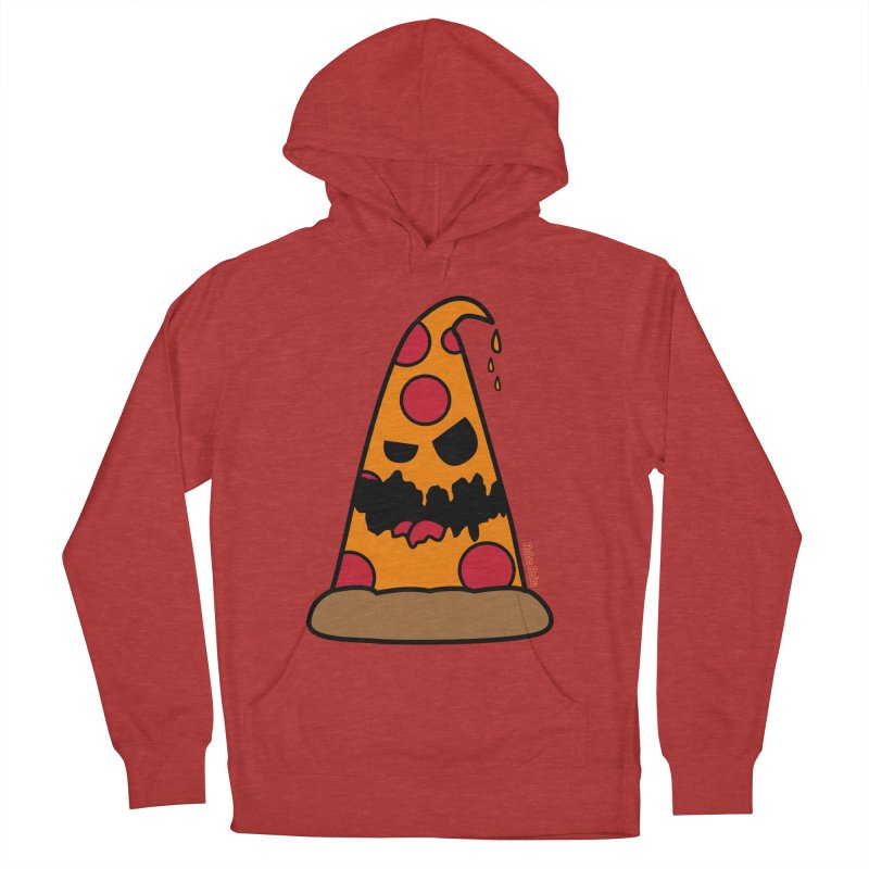 Pizza Life - Pepperoni Pete Women's French Terry Pullover Hoody by Robo Roku