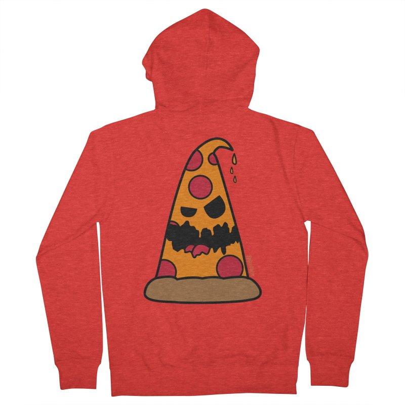 Pizza Life - Pepperoni Pete Women's Zip-Up Hoody by Robo Roku