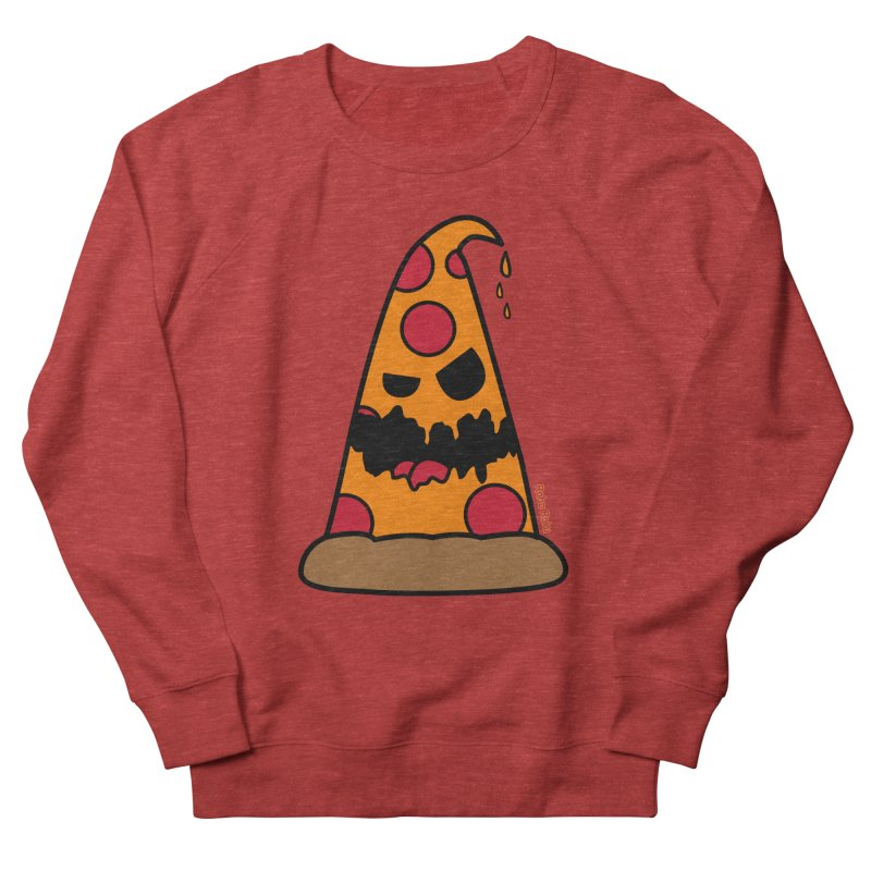 Pizza Life - Pepperoni Pete Men's French Terry Sweatshirt by Robo Roku