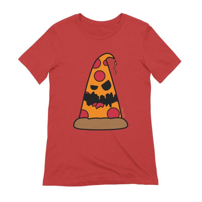 Pizza Life - Pepperoni Pete Women's T-Shirt by Robo Roku