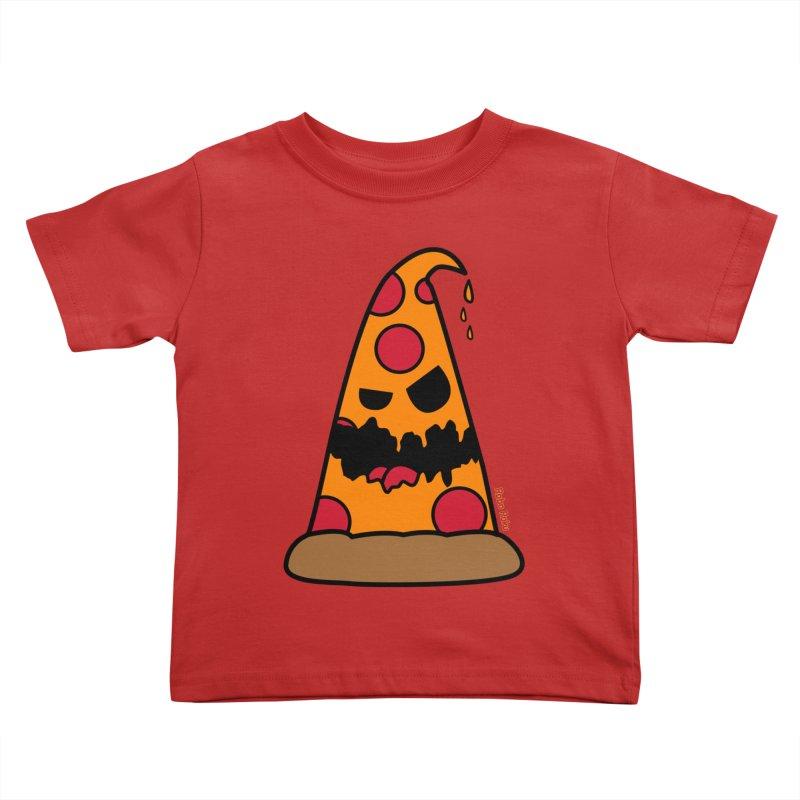 Pizza Life - Pepperoni Pete Kids Toddler T-Shirt by Robo Roku