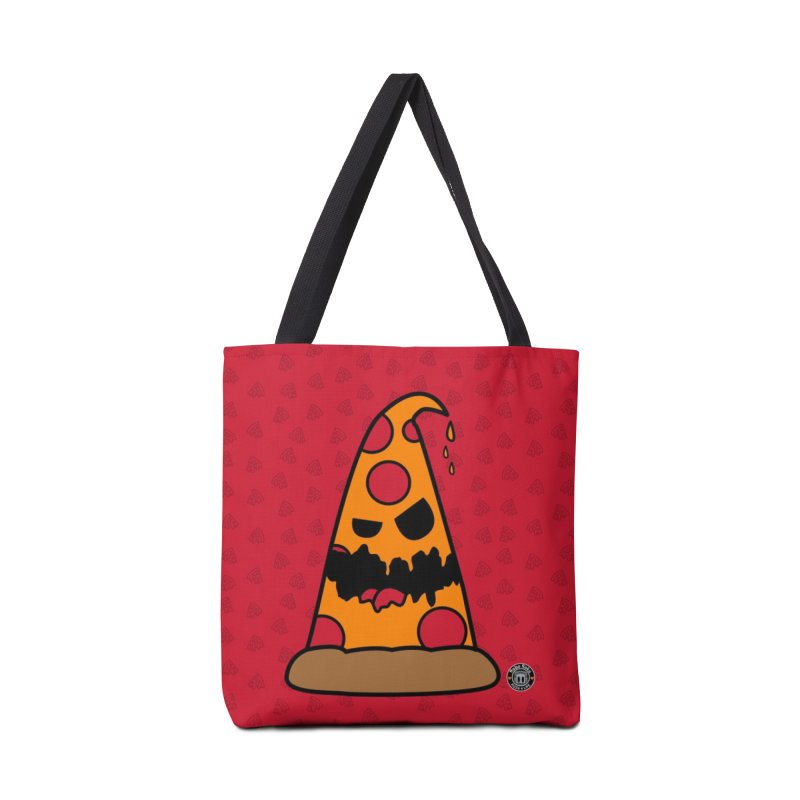 Pizza Life - Pepperoni Pete Accessories Tote Bag Bag by Robo Roku
