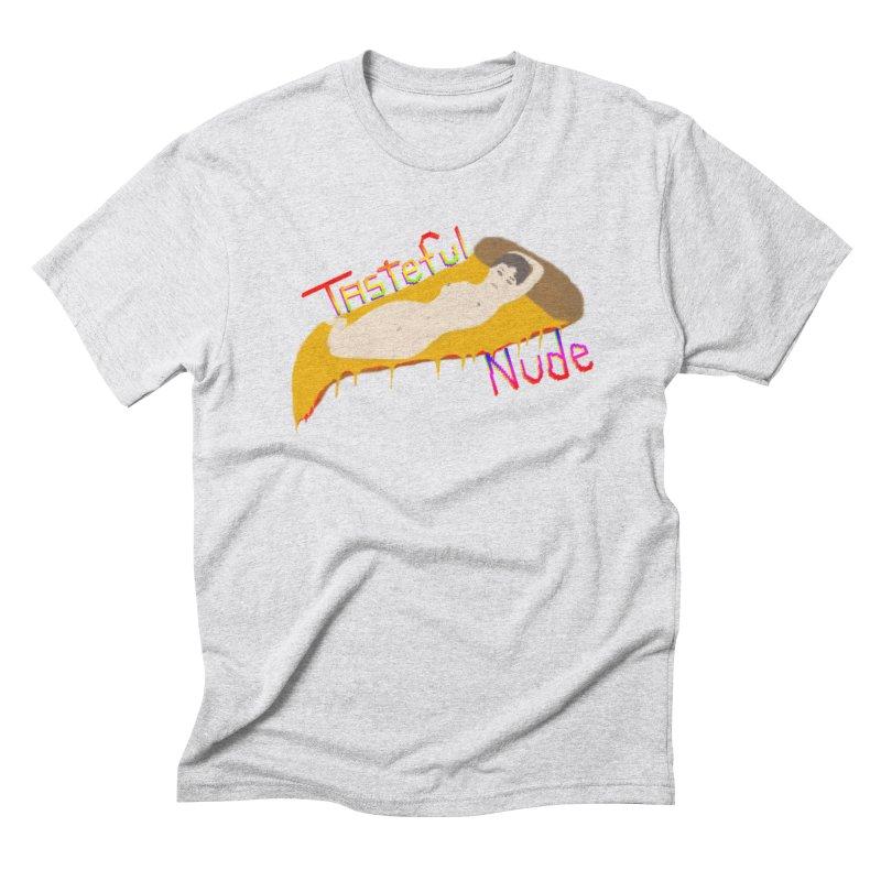 Tasteful Nude Men's Triblend T-Shirt by Robotboot Artist Shop
