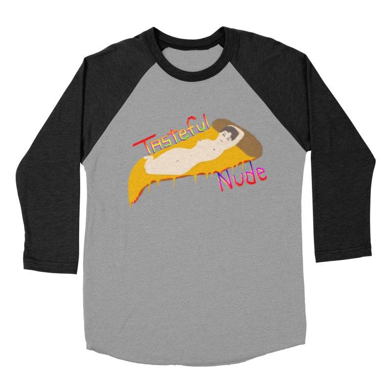 Tasteful Nude Men's Baseball Triblend T-Shirt by Robotboot Artist Shop