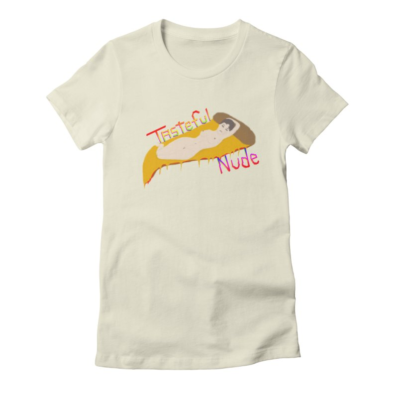Tasteful Nude Women's Fitted T-Shirt by Robotboot Artist Shop