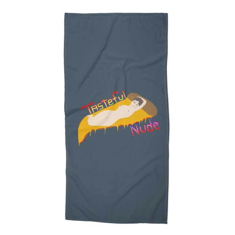 Tasteful Nude Accessories Beach Towel by Robotboot Artist Shop