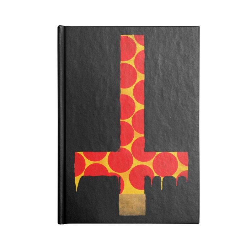 Hail Pizza Cross Accessories Notebook by Robotboot Artist Shop