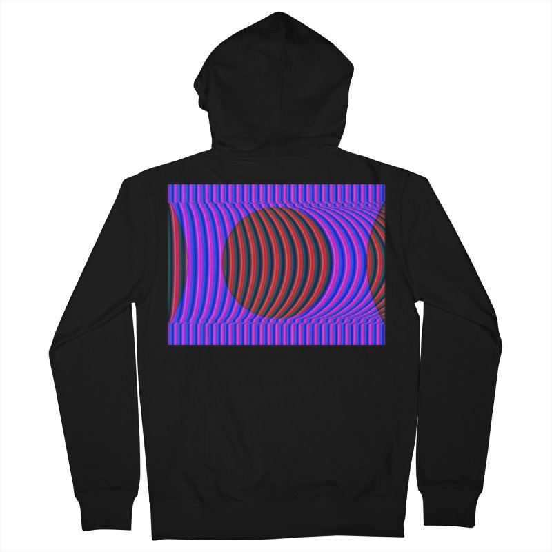 Circle Feedback Men's Zip-Up Hoody by Robotboot Artist Shop