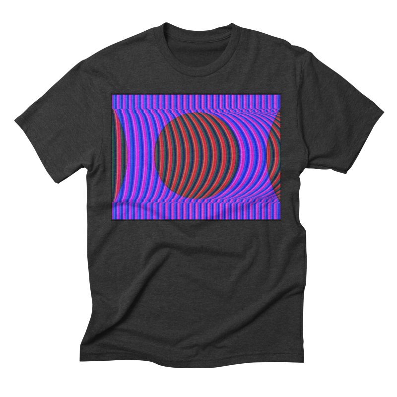 Circle Feedback Men's Triblend T-Shirt by Robotboot Artist Shop