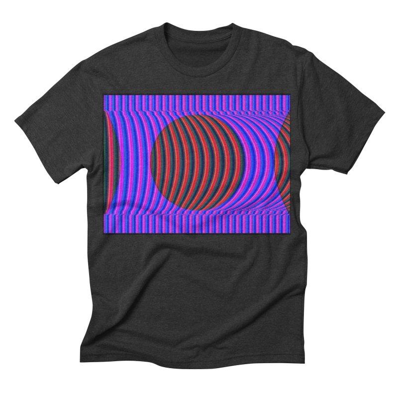 Circle Feedback Men's Triblend T-shirt by Robotboot Artist Shop