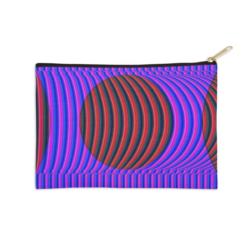 Circle Feedback Accessories Zip Pouch by Robotboot Artist Shop