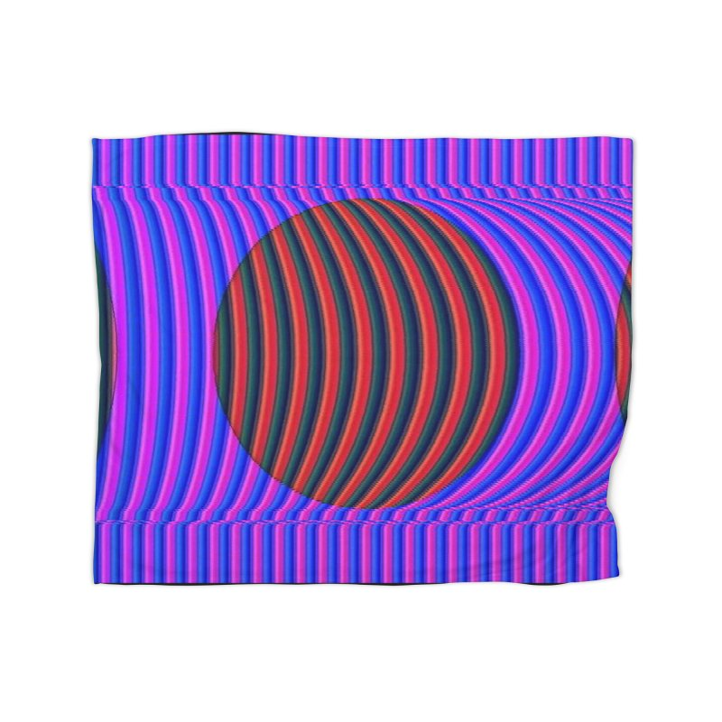 Circle Feedback Home Blanket by Robotboot Artist Shop