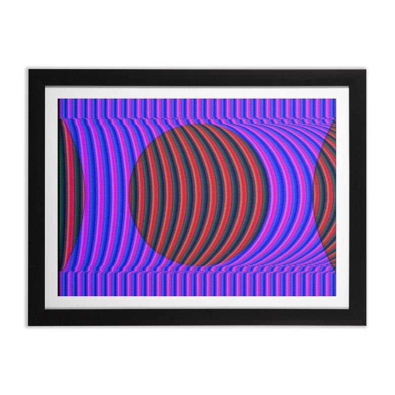 Circle Feedback Home Framed Fine Art Print by Robotboot Artist Shop