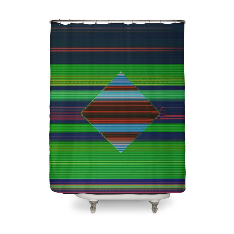 416.00_05_28_06 Home Shower Curtain by Robotboot Artist Shop