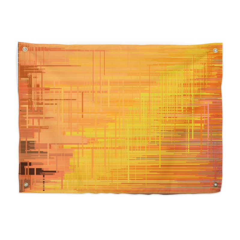Orangish Home Tapestry by Robotboot Artist Shop