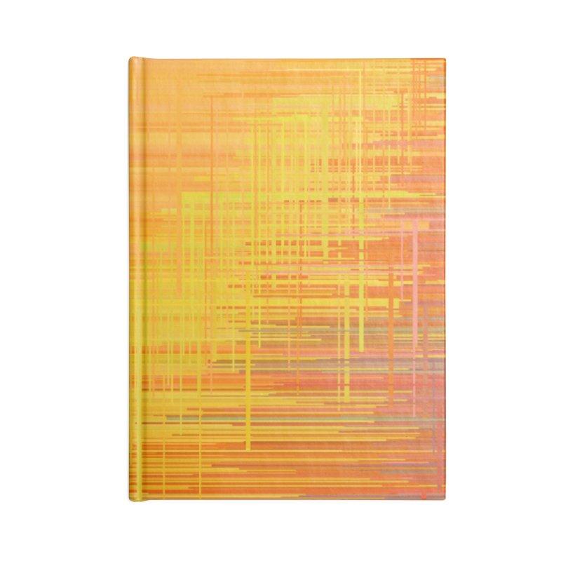 Orangish Accessories Notebook by Robotboot Artist Shop