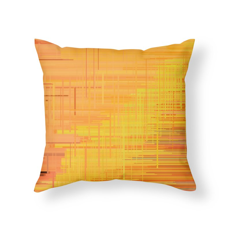 Orangish Home Throw Pillow by Robotboot Artist Shop