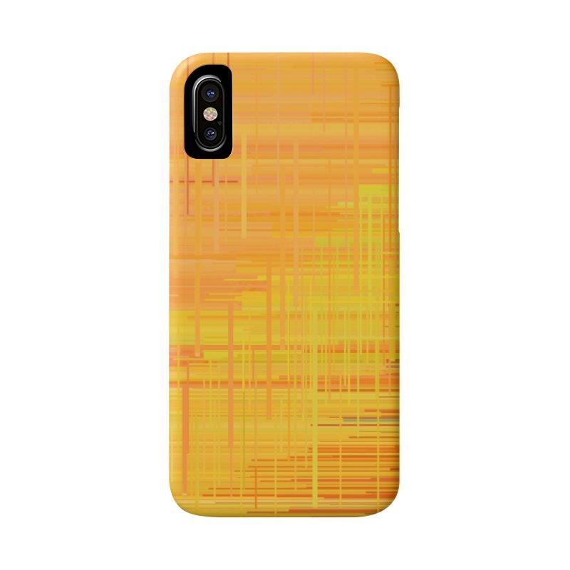Orangish Accessories Phone Case by Robotboot Artist Shop