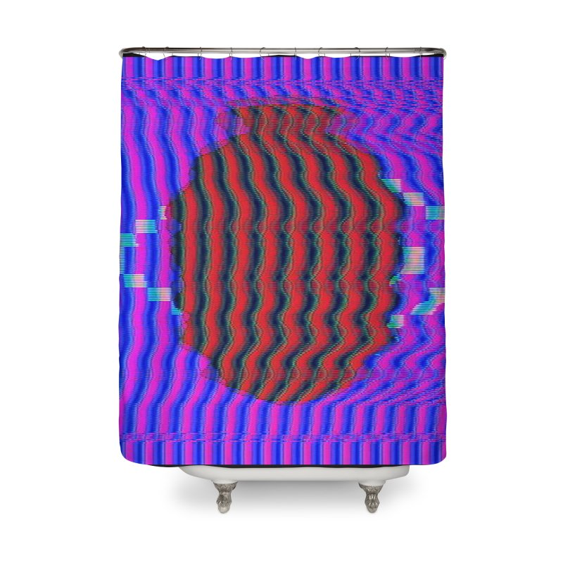 Planet Home Shower Curtain by Robotboot Artist Shop