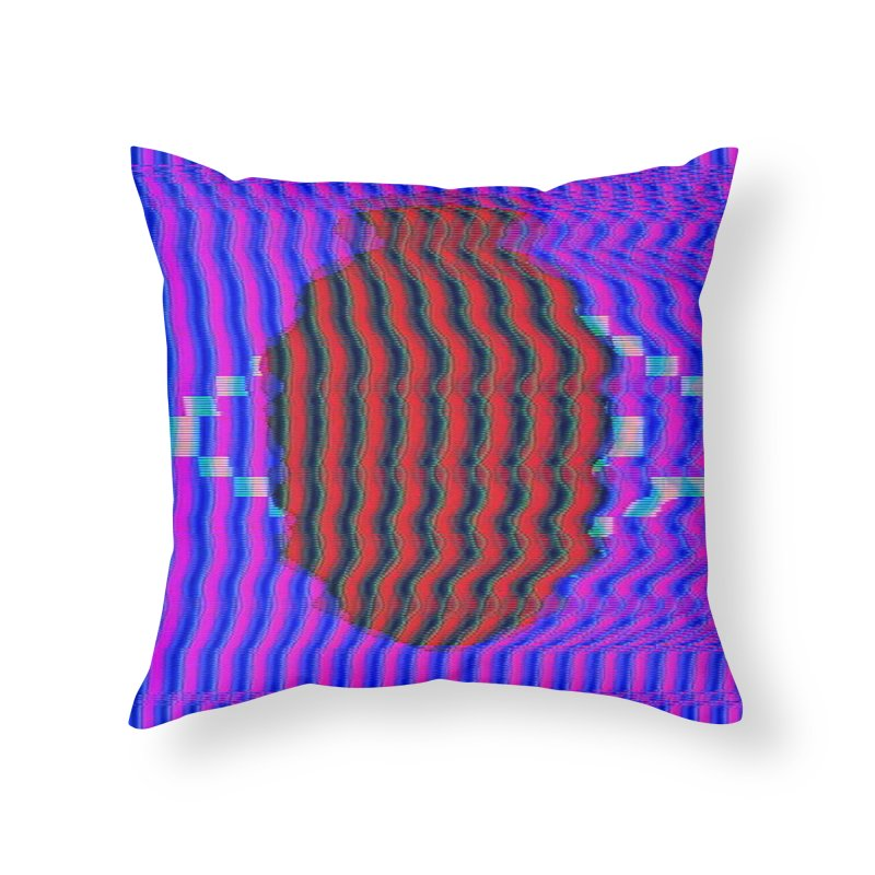 Planet Home Throw Pillow by Robotboot Artist Shop