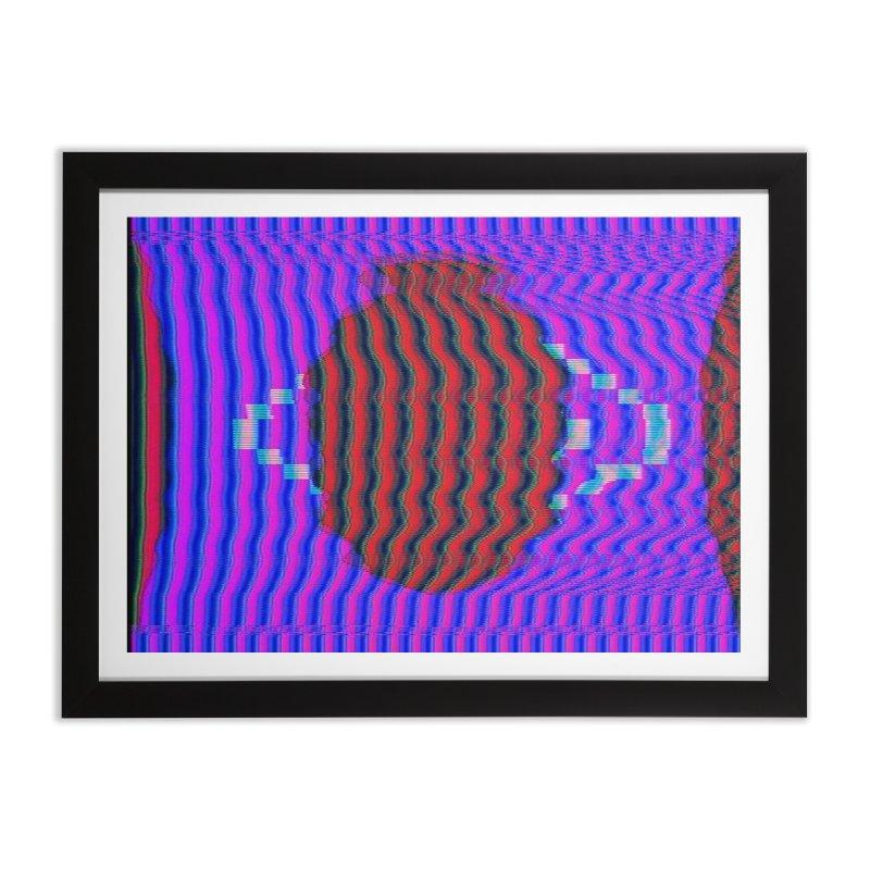 Planet Home Framed Fine Art Print by Robotboot Artist Shop