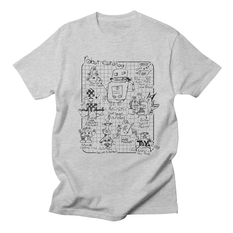 Robot Catalog Men's T-shirt by ROBOT CATALOG