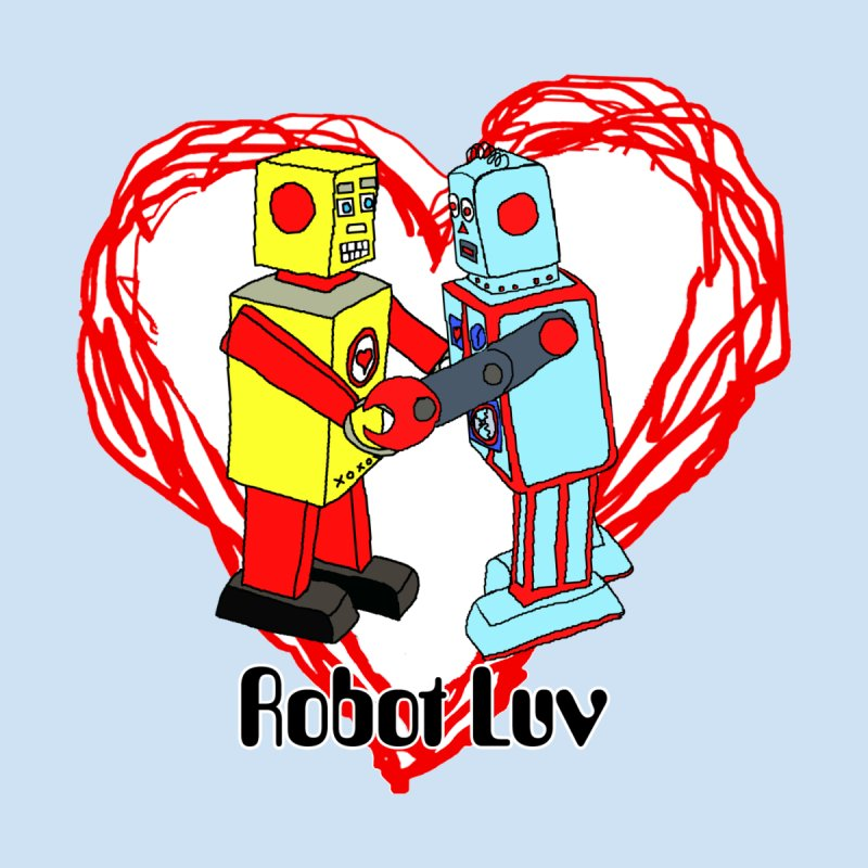 Robot Luv logo by robotluv's Artist Shop