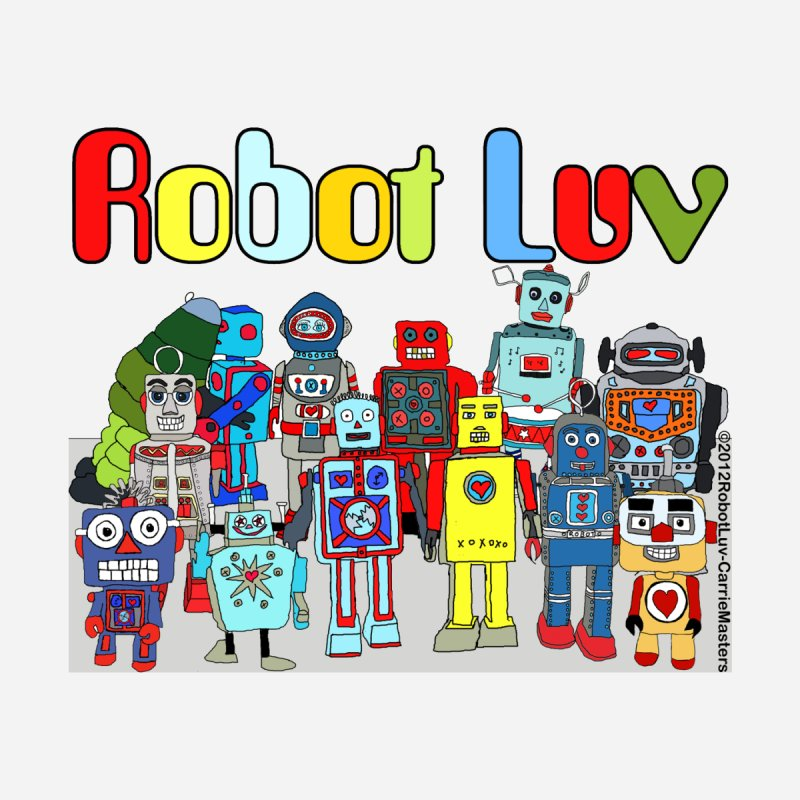 Robot Luv Characters by robotluv's Artist Shop