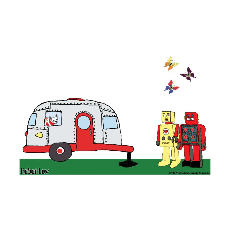 Camping Robots by robotluv's Artist Shop