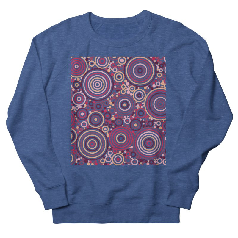 Concentric concentrate (reds) Men's Sweatshirt by Robot Molecule