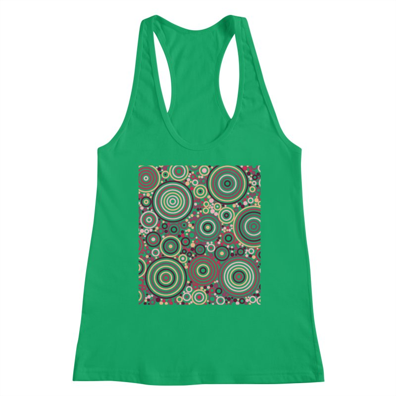 Concentric concentrate (reds) Women's Tank by Robot Molecule