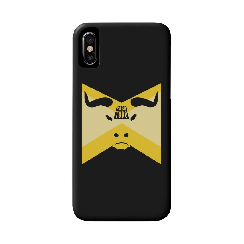 Pledge Allegiance to the Robot Bull in iPhone X / XS Phone Case Slim by The ROBOTORO Shop