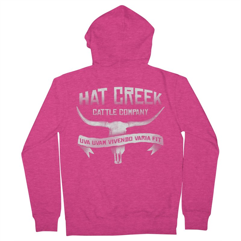 Hat Creek Cattle Company Women's Zip-Up Hoody by robotrobotrobot's Artist Shop