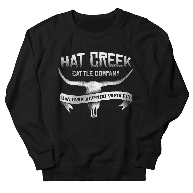 Hat Creek Cattle Company Women's Sweatshirt by robotrobotrobot's Artist Shop