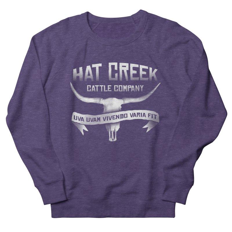 Hat Creek Cattle Company Men's Sweatshirt by robotrobotrobot's Artist Shop