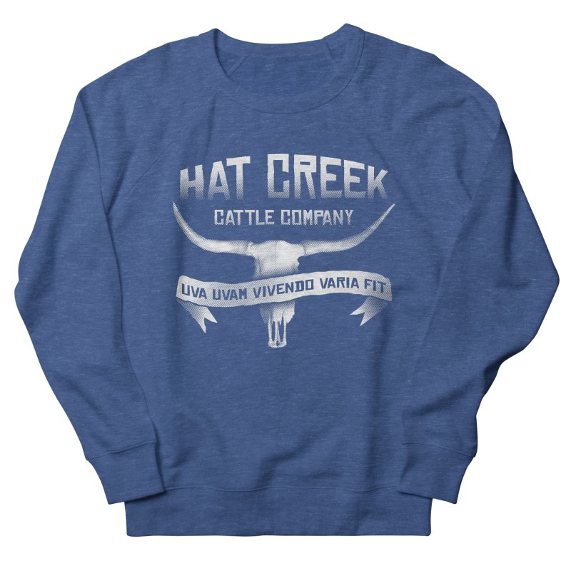 Hat Creek Cattle Company Men's Sweatshirt by robotrobotrobot's Artist Shop