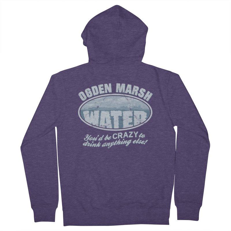 Ogden Marsh Water Men's Zip-Up Hoody by robotrobotrobot's Artist Shop
